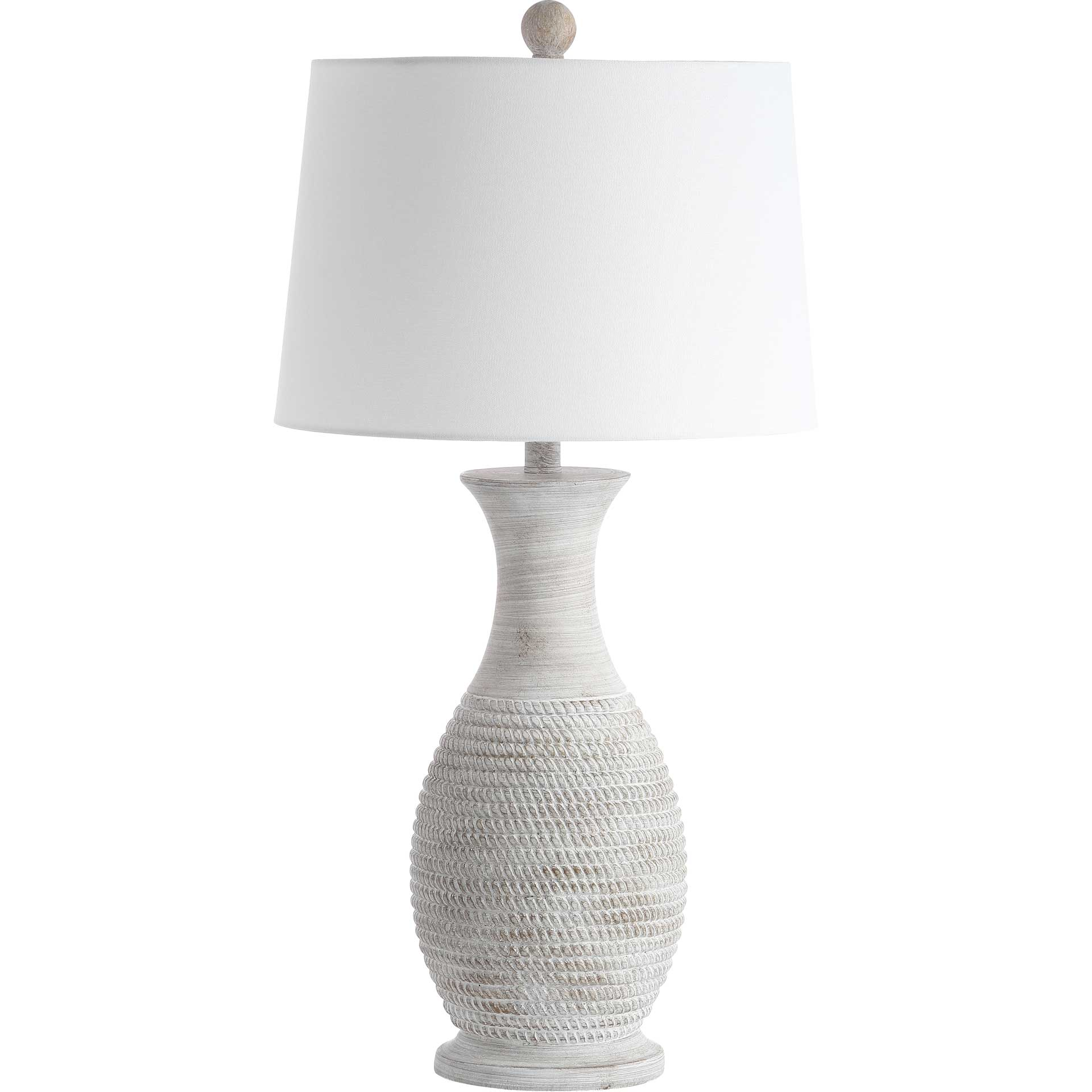 Becker Table Lamp Gray (Set of 2)