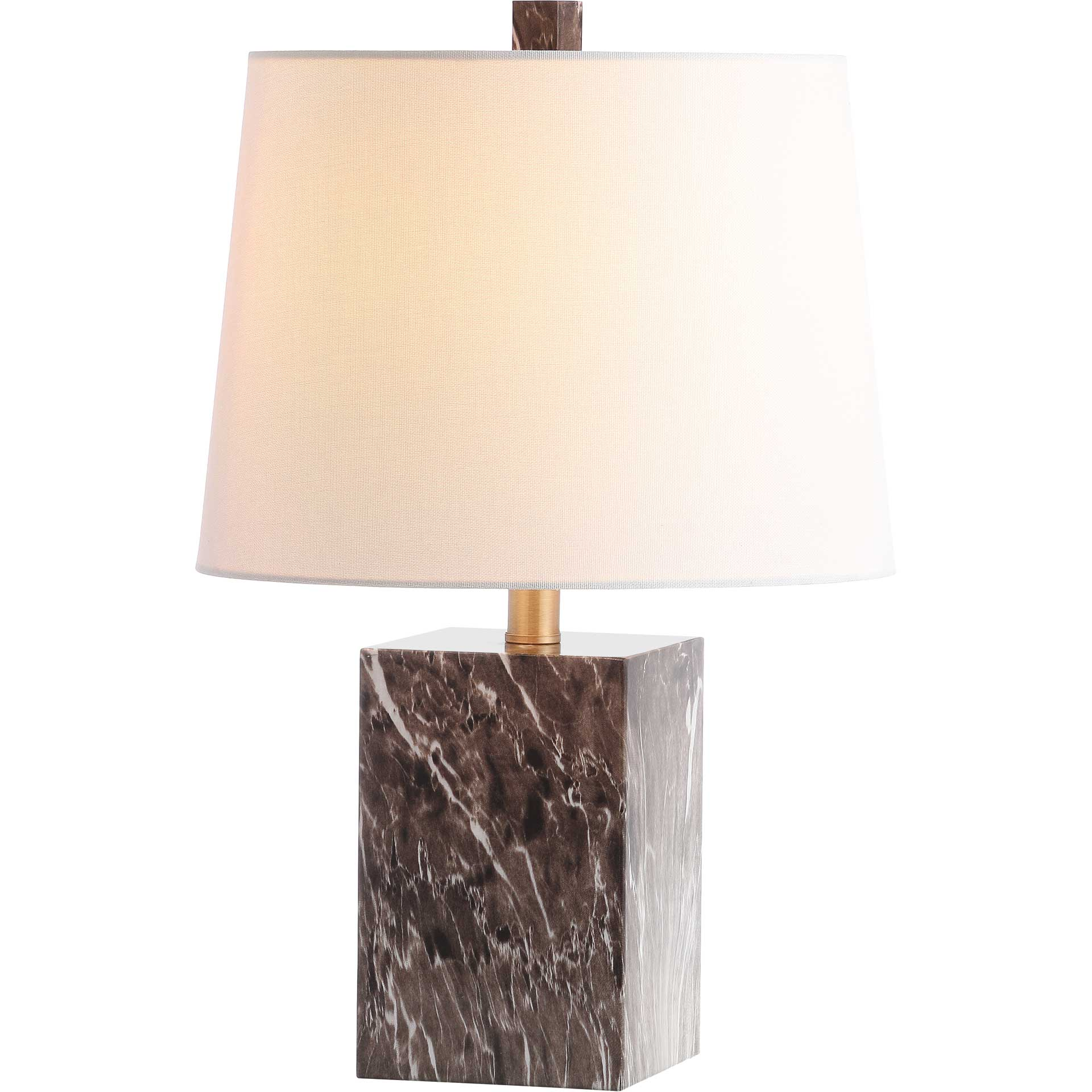 Breakers Table Lamp Brown Marble