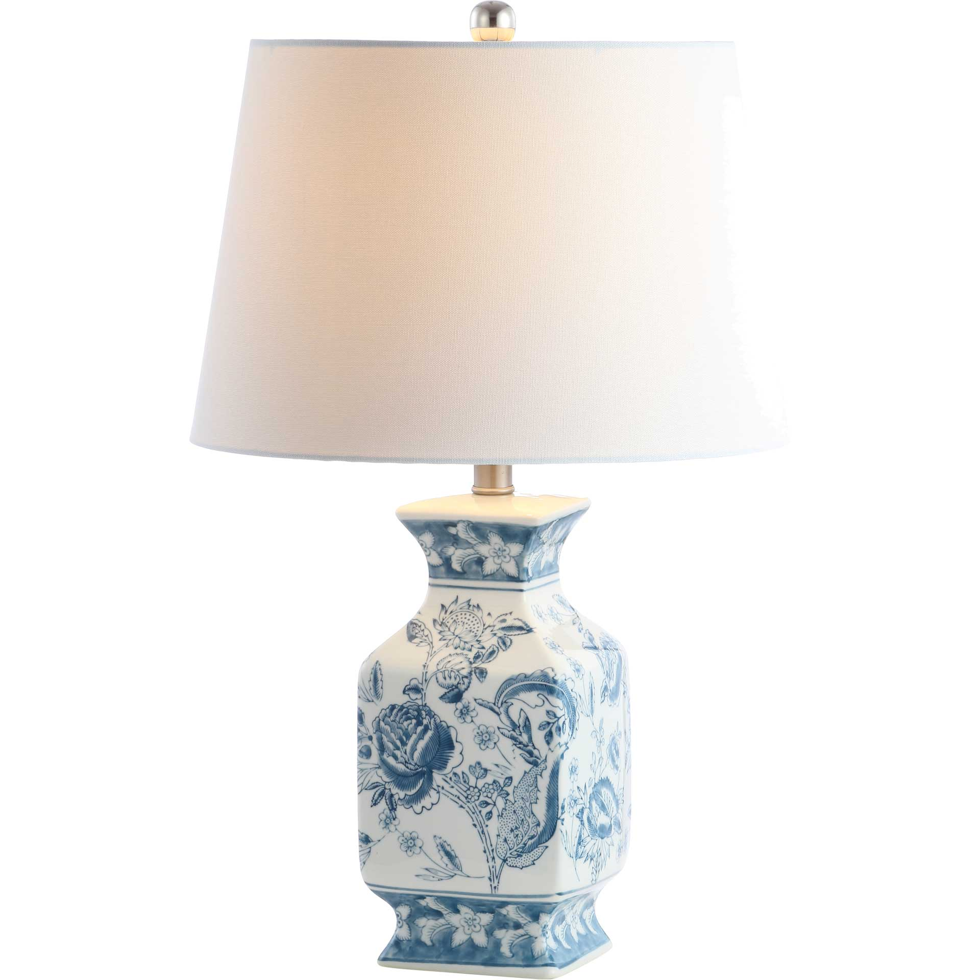 Maren Table Lamp Blue/White