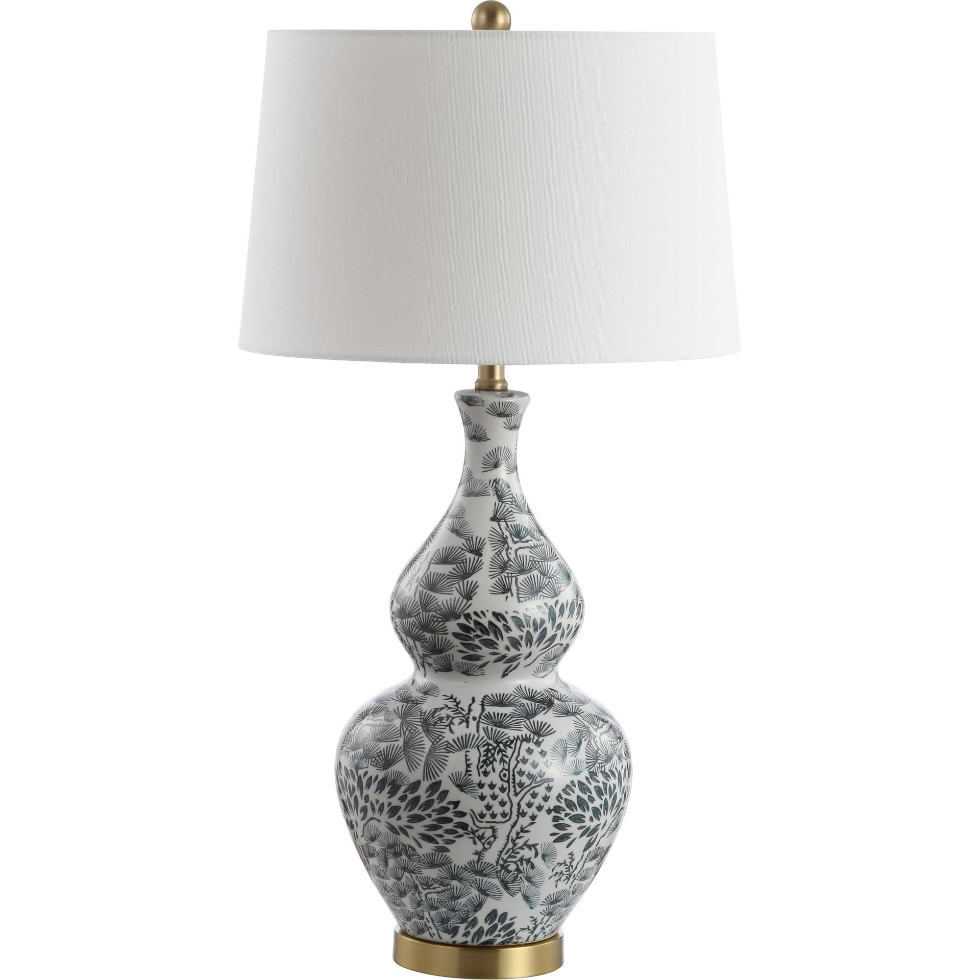 Alamosa Table Lamp Black/White (Set of 2)
