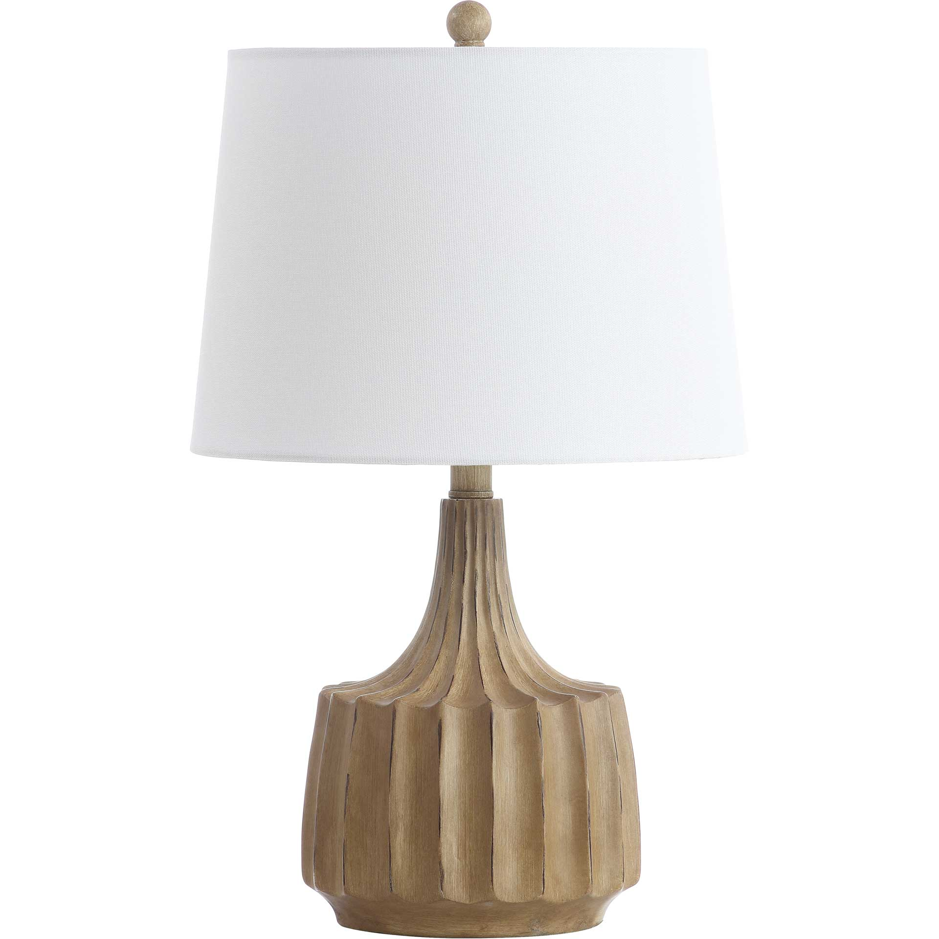 Shanara Table Lamp Wood Finish