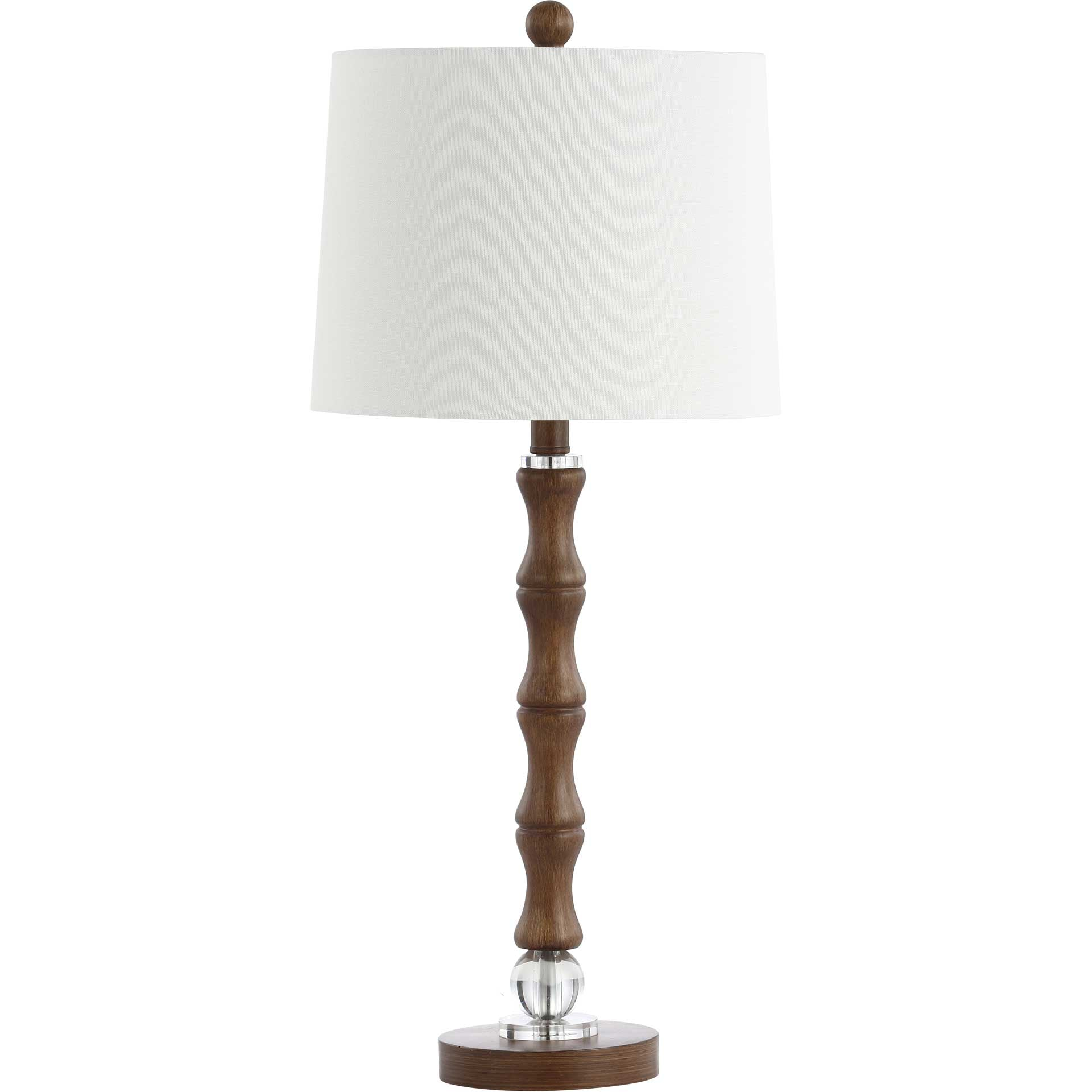 Lucille Table Lamp Dark Brown