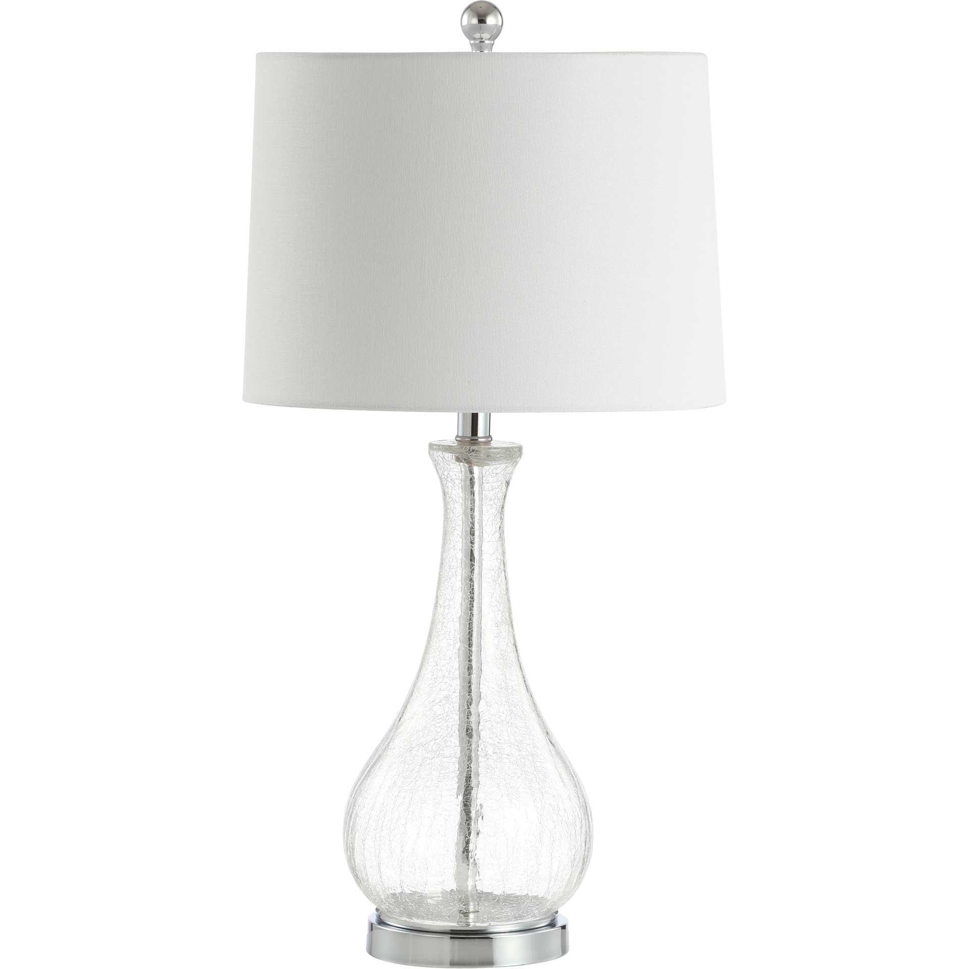 Finesse Table Lamp Crack Clear