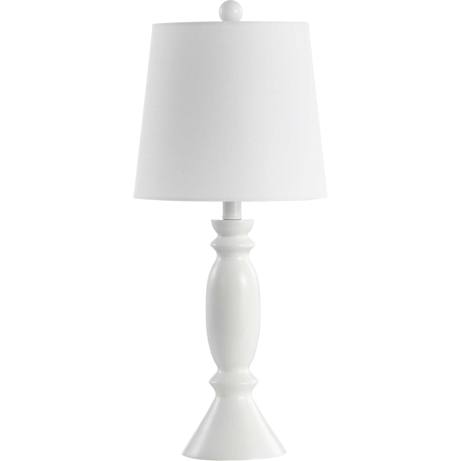 King Table Lamp White