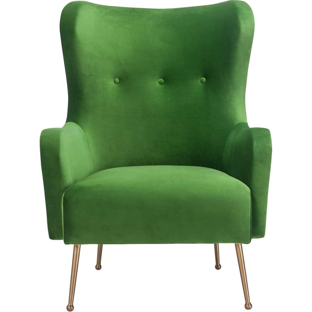 Esther Green Velvet Chair