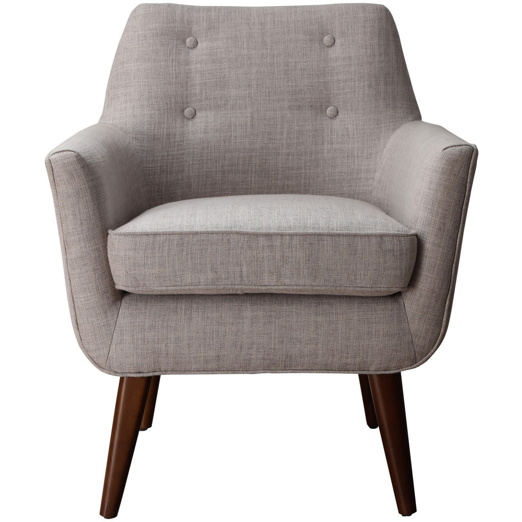Clark Beige Linen Chair