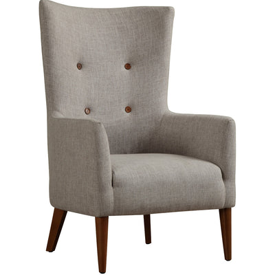 Aslan Beige Linen Chair