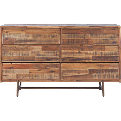 Boston Wooden 6 Drawer Dresser