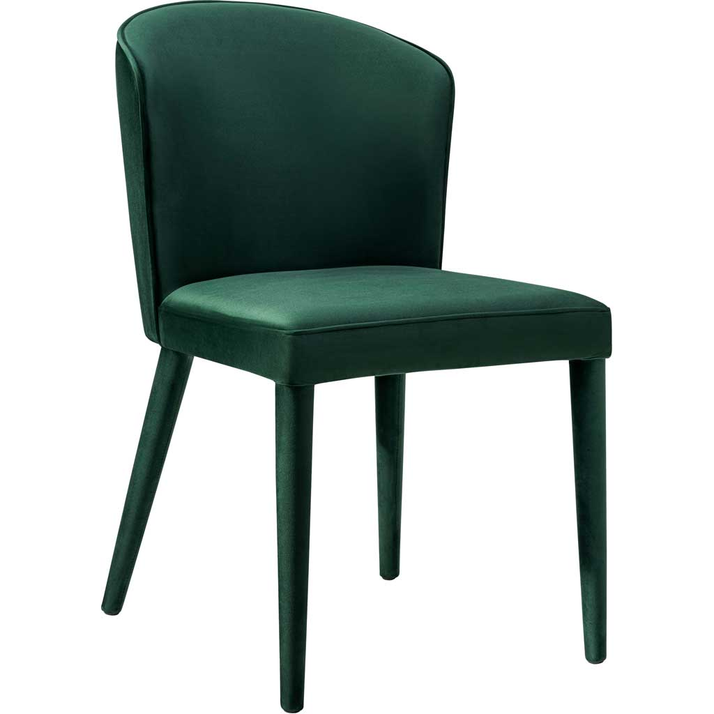 Mason Forest Green Velvet Chair