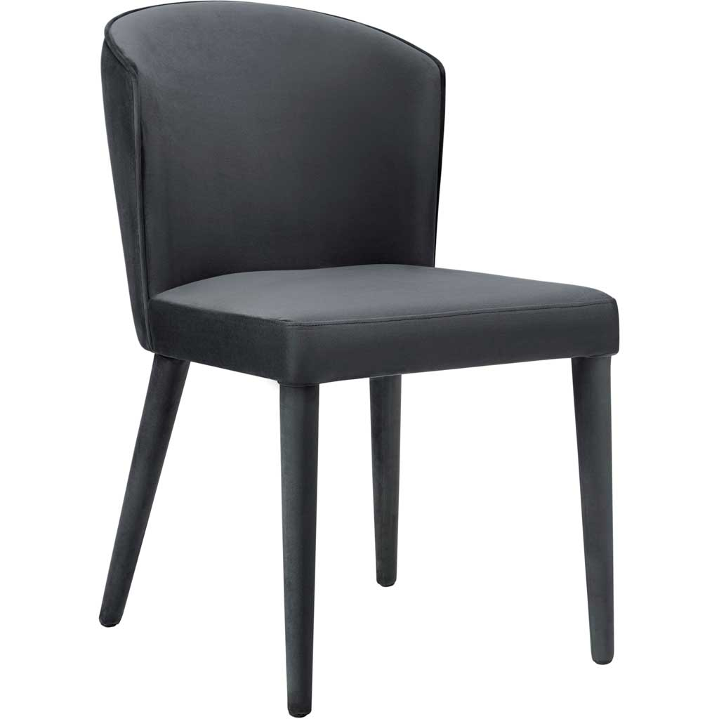 Mason Gray Velvet Chair