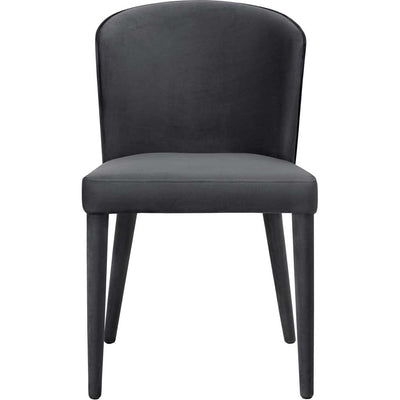 Mason Gray Velvet Chair (Set of 2)