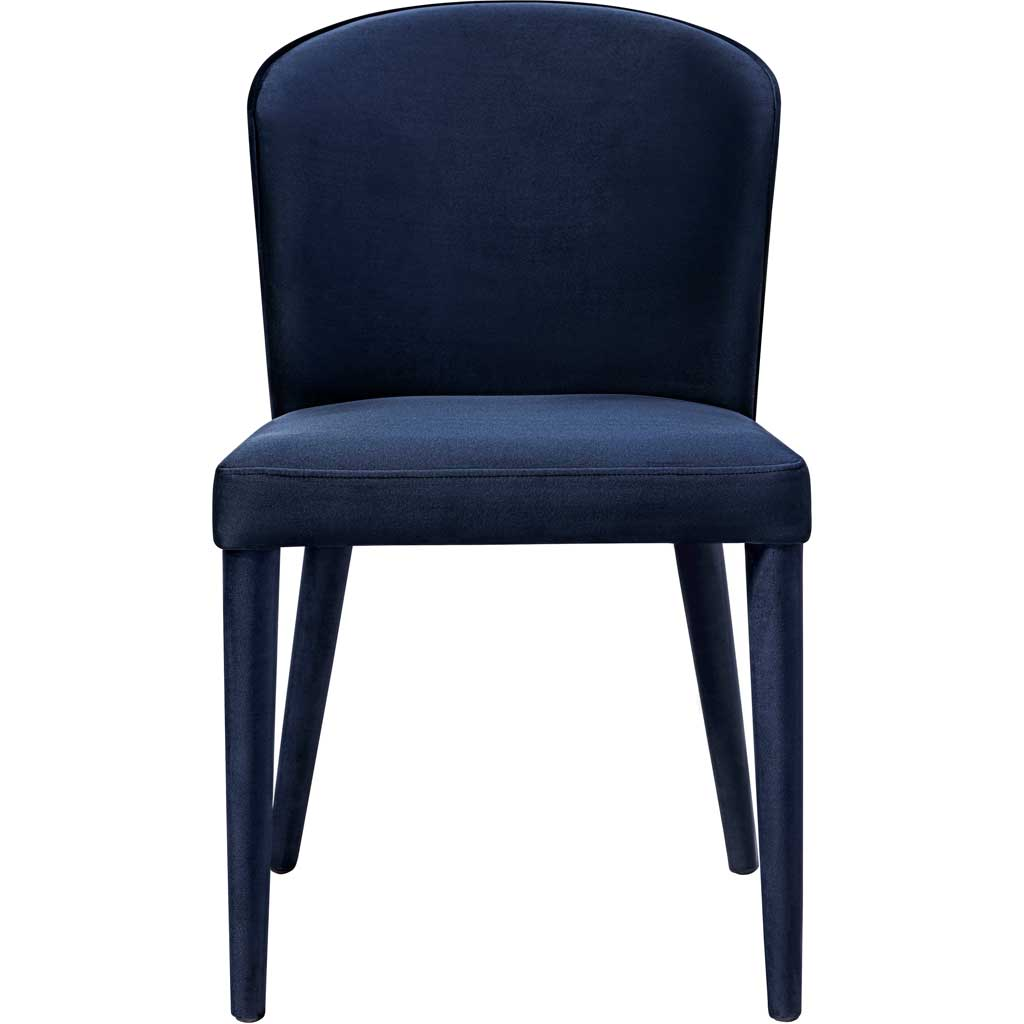 Mason Navy Velvet Chair