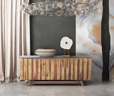Astor Dark Concrete Buffet