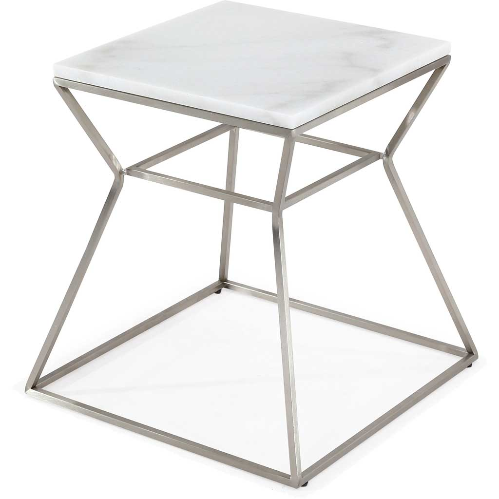 Zander Marble Side Table