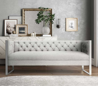 Fontaine Light Gray Sofa