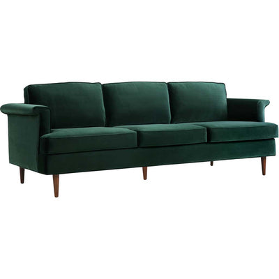Superb Pessac Forest Green Sofa