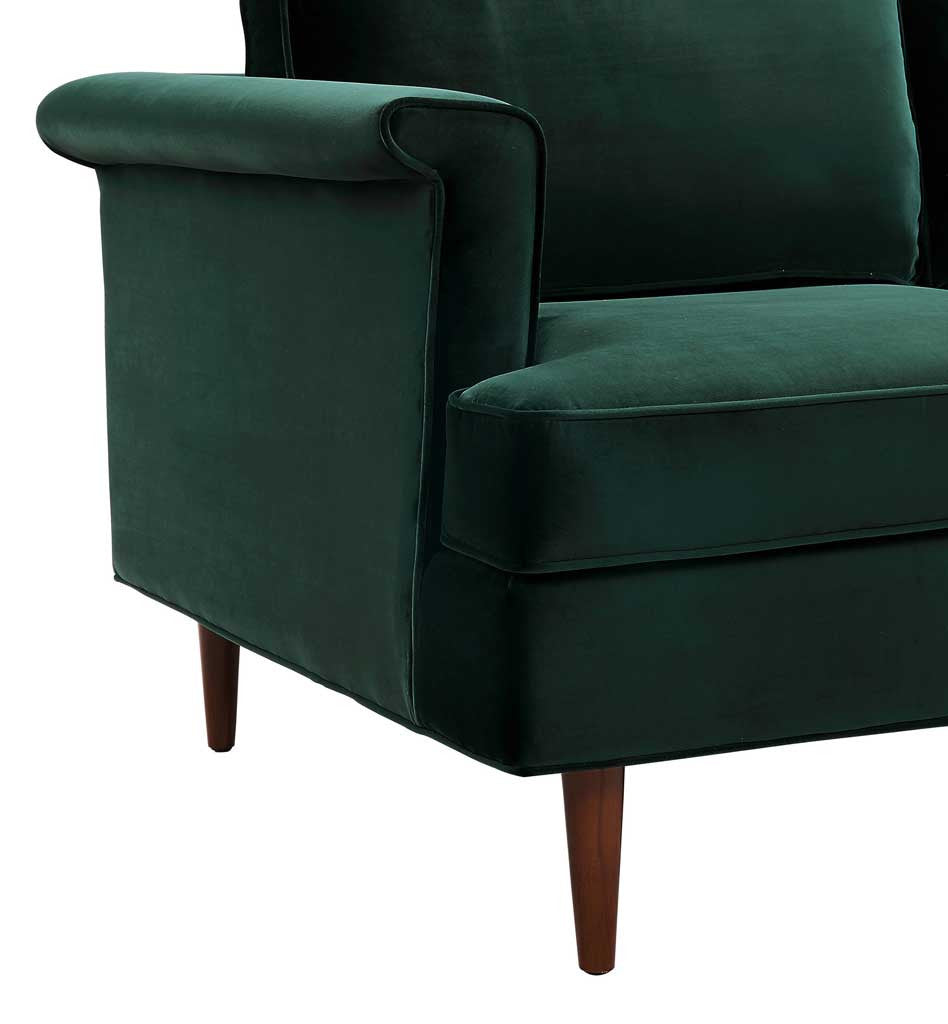 Amazing Pessac Forest Green Sofa