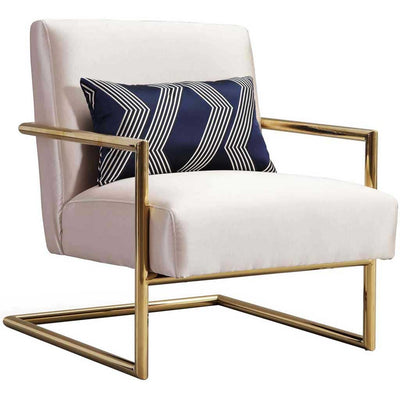 Ellen Beige Linen Chair
