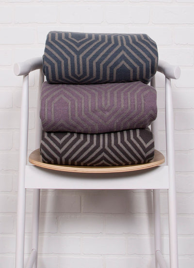 Trinity Castlerock/Neutral Gray Throw