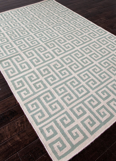 Urban Bungalow Melina Light Turquoise Area Rug