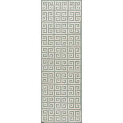 Urban Bungalow Melina Light Turquoise Runner Rug