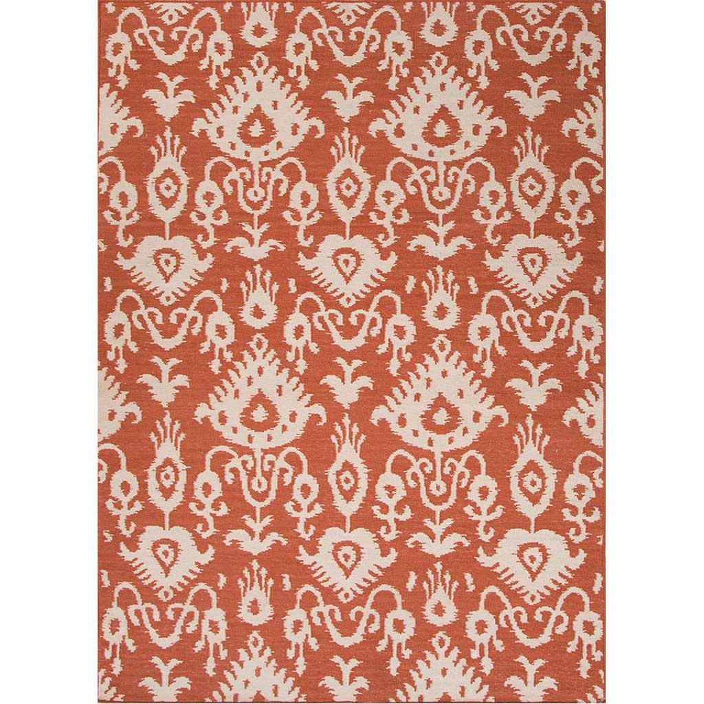 Urban Bungalow Samir Orange Rust Area Rug