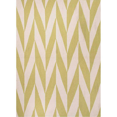 Urban Bungalow Cypress Wild Lime/White Area Rug