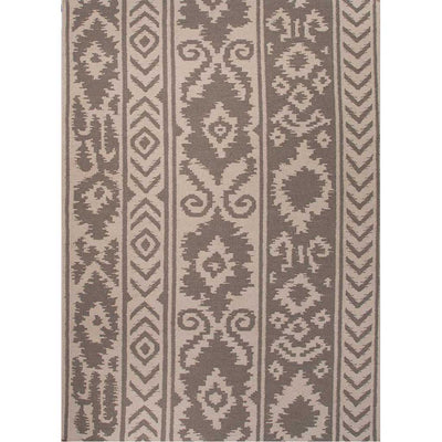Urban Bungalow Farid White/Medium Gray Area Rug