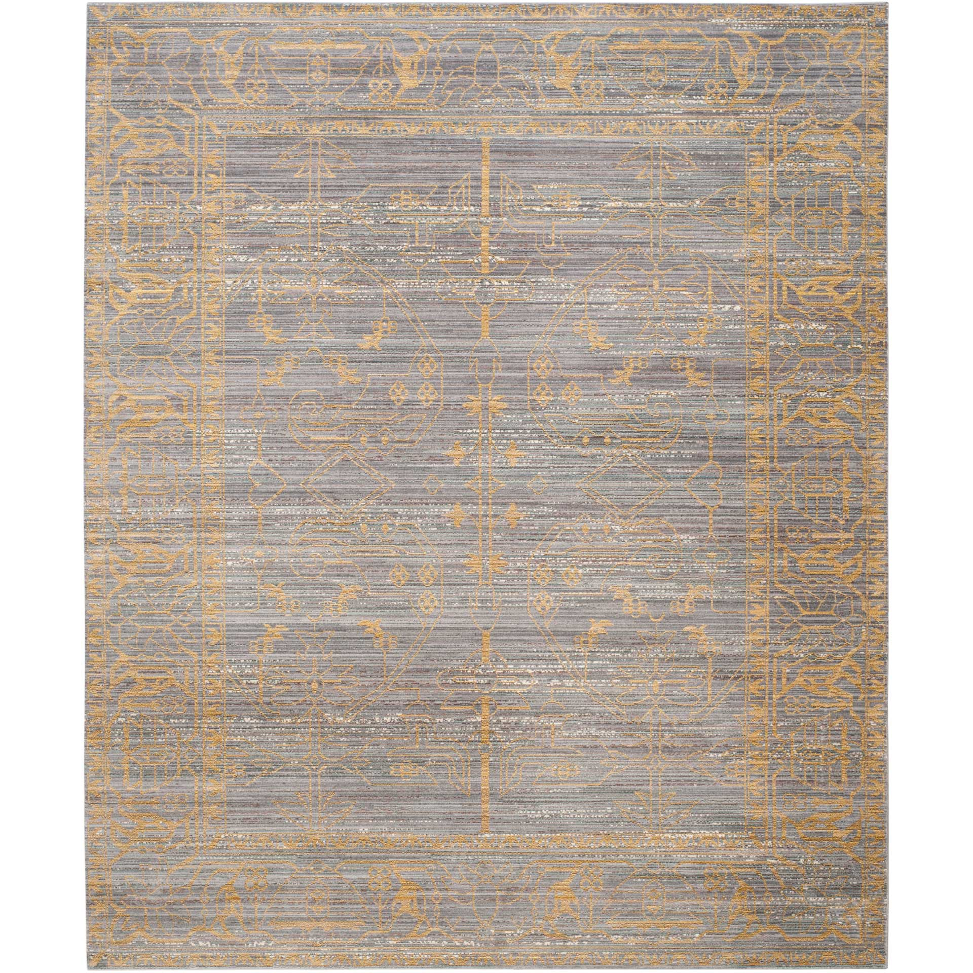 Valencia Gray/Gold Area Rug