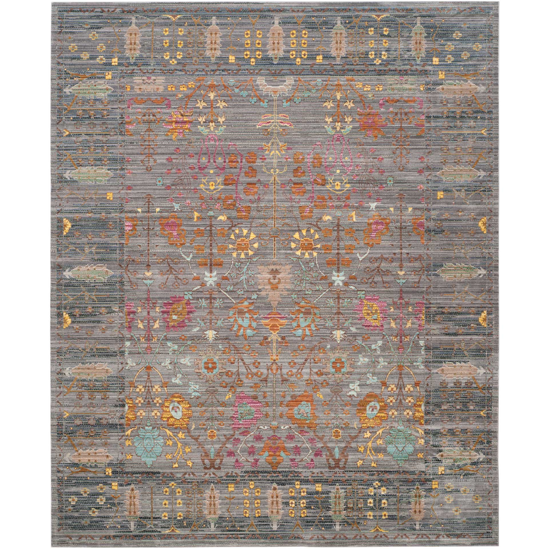 Valencia Gray/Multi Area Rug
