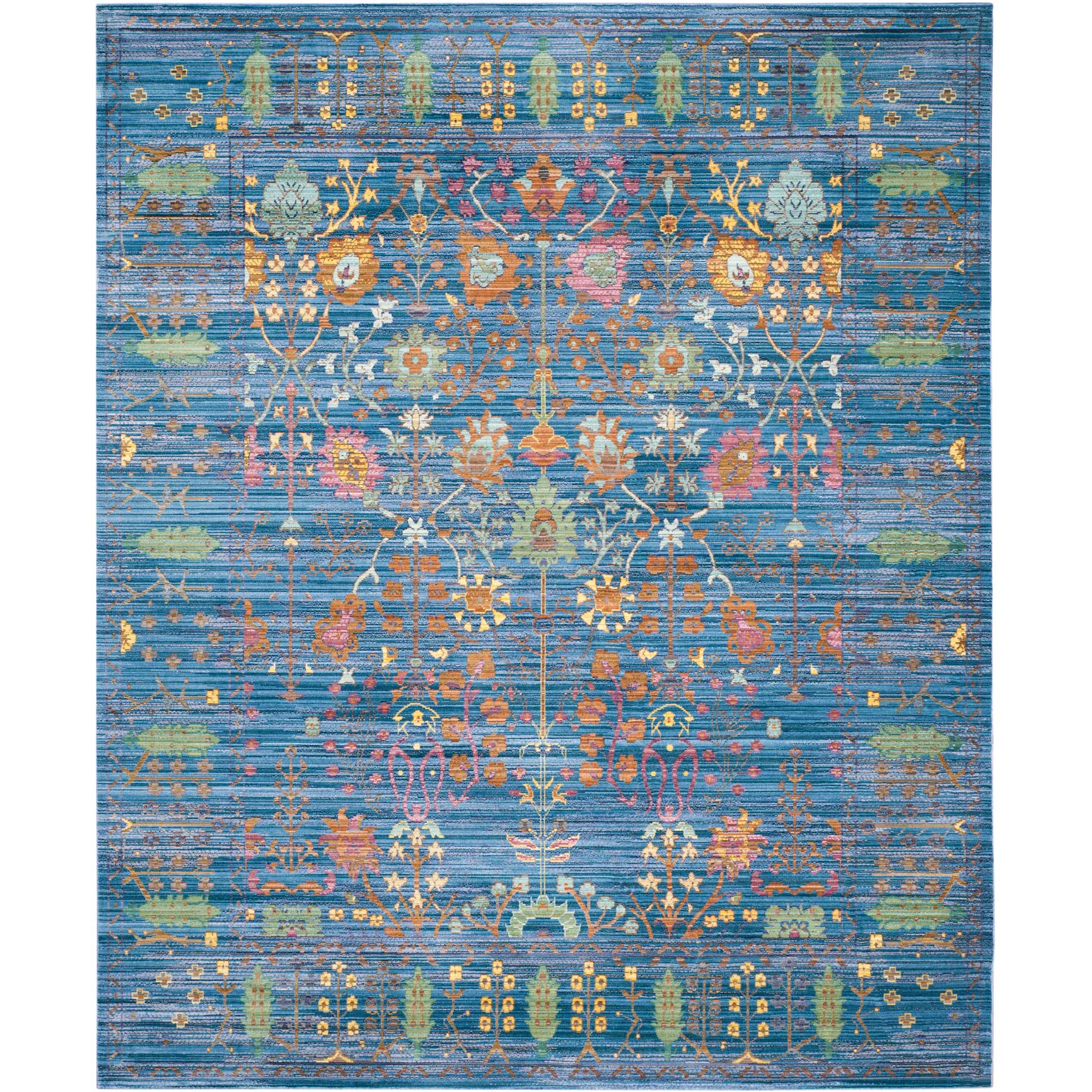 Valencia Blue/Multi Area Rug