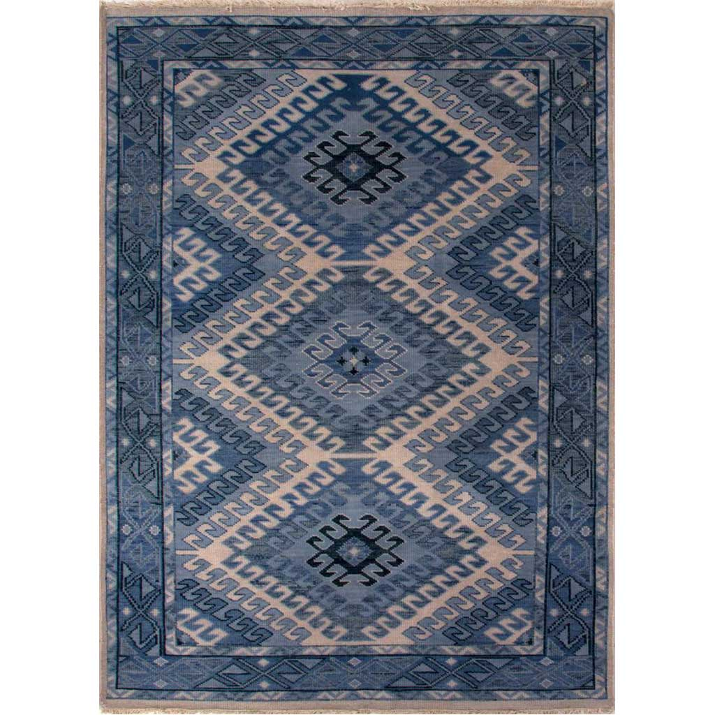 Village Hobbs Dusty Blue/Blue Heaven Area Rug