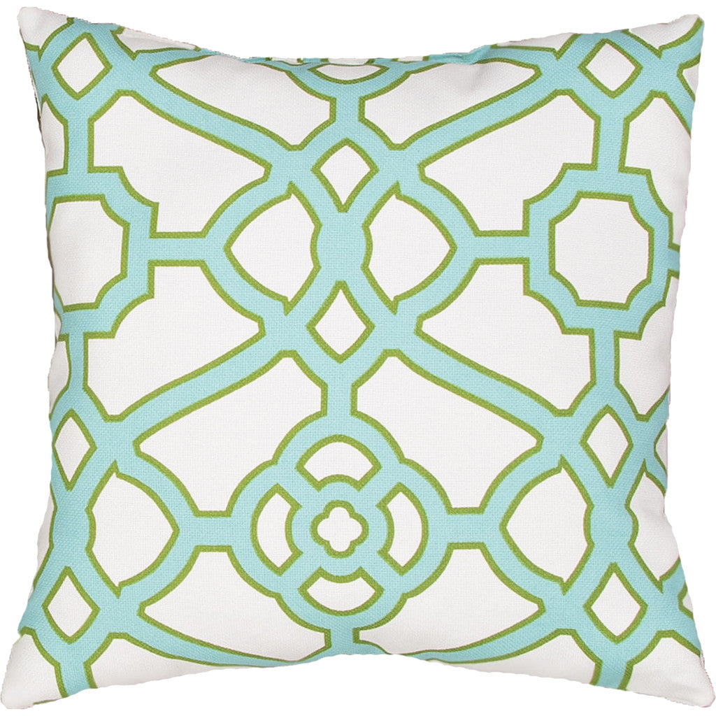 Veranda Odl Pavilion Frtw Snow White/Blue Radience Pillow