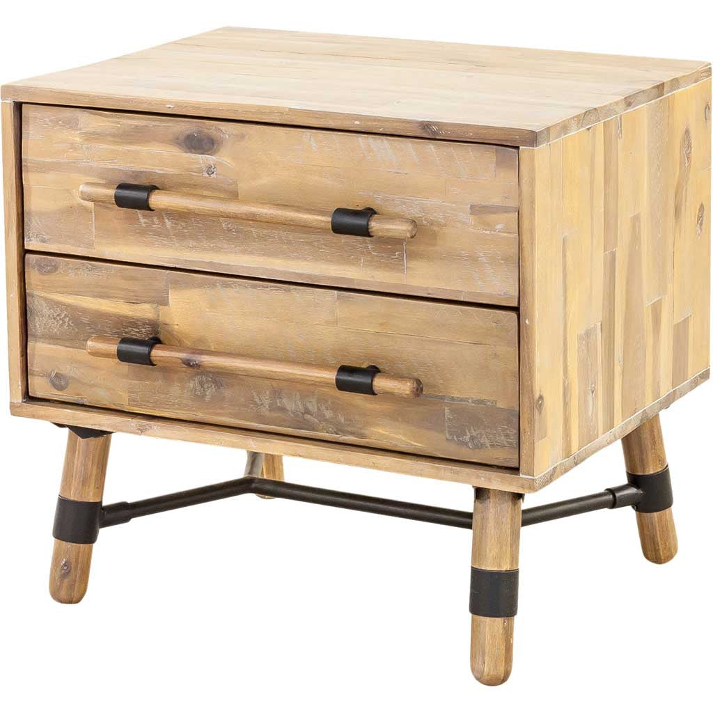 Huntington 2 Drawer Nightstand