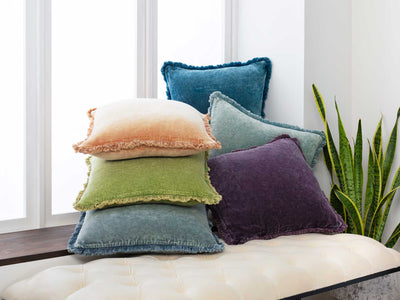 Washed Clarity Pillow Denim