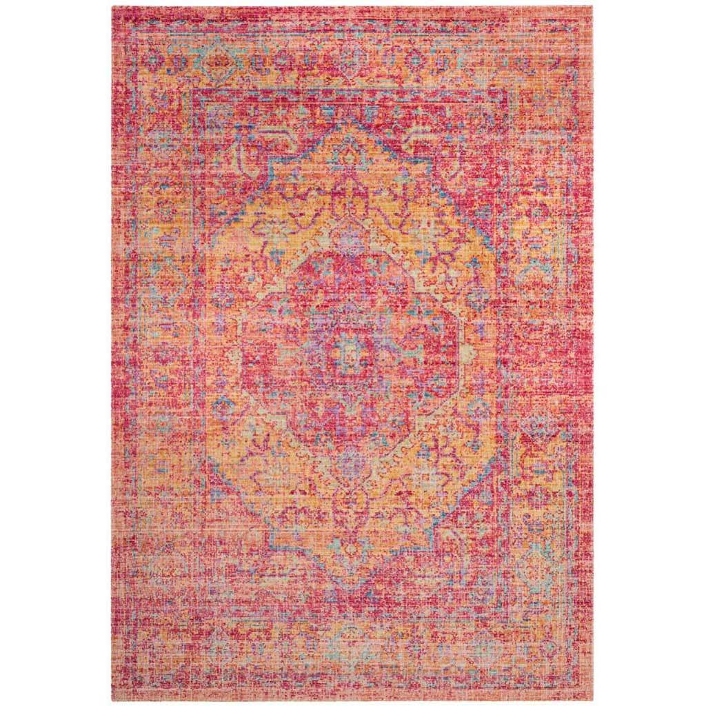 Windsor Gold/Fuchsia Area Rug