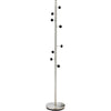 Swift Coat Rack Brushed Steel