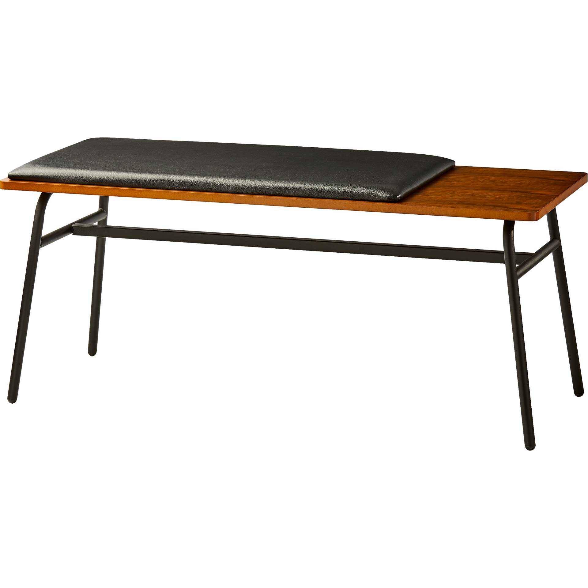 Charles Bench Walnut/Black