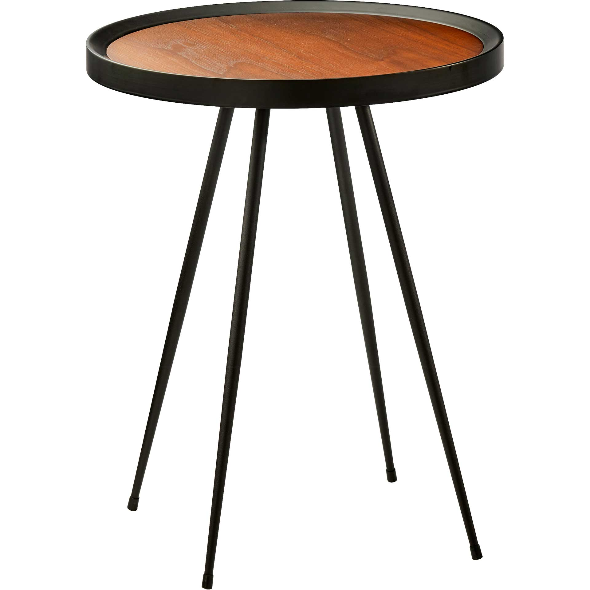 Bastia End Table Walnut