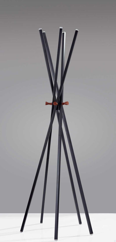Anglesey Coat Rack Black