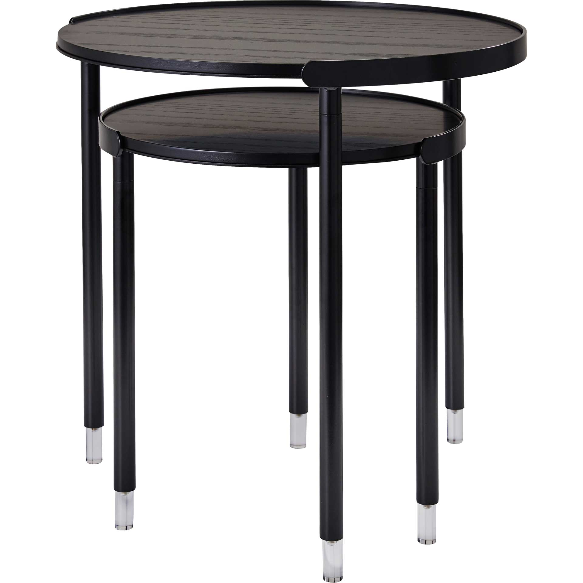 Blagnac Nesting Tables Black
