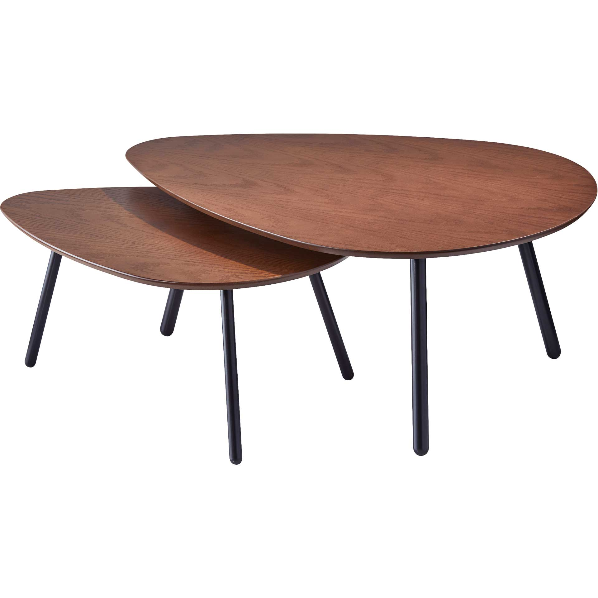Herning Nesting Coffee Table Walnut
