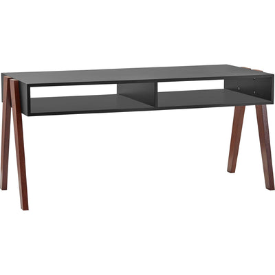 Laon Coffee Table Black/Walnut