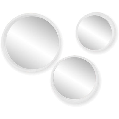 Daws Wall Mirror White (Set of 3)