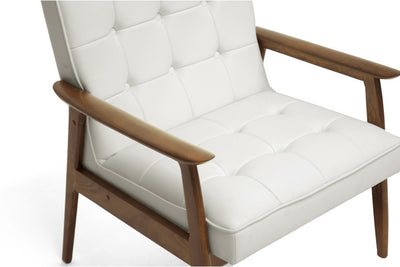Carraway Arm Chair White