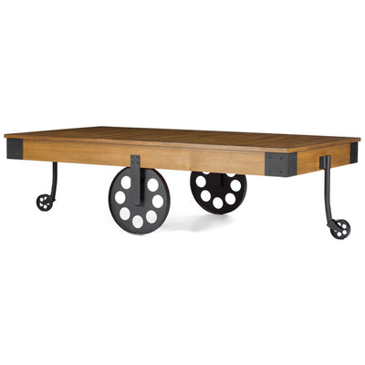 Lancaster Coffee Table Distressed Wood