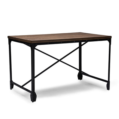 George Vintage Desk Distressed Wood