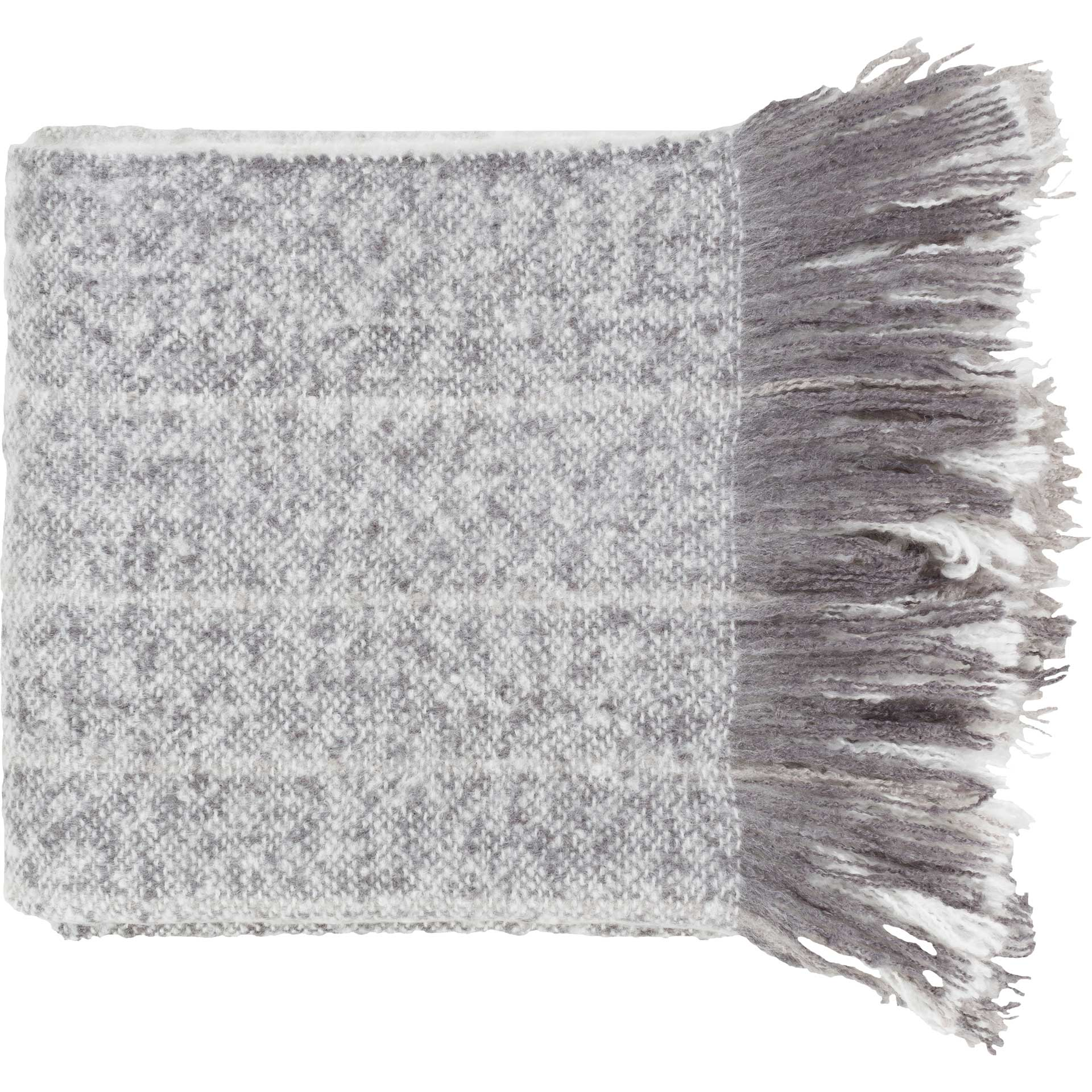 Arham Throw Medium Gray/White/Charcoal