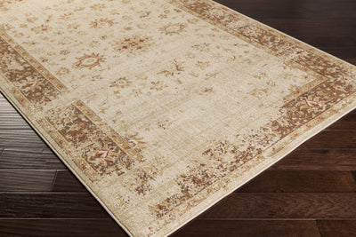 Arabesque Beige/Mocha Area Rug