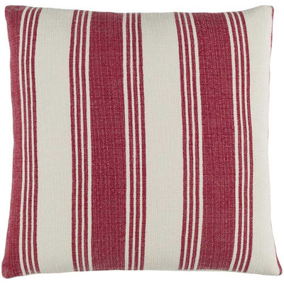 Anchor Bay Burgundy/Ivory Pillow
